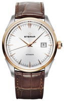 Eterna  1948 Legacy Date Steel/PVD Rose Gold Ref: 2951.53.11.1323