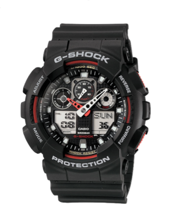 Casio G-Shock Ana-Digital GA100-1A4