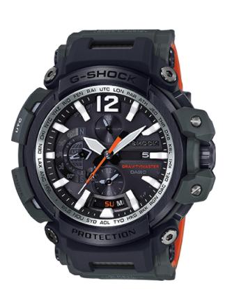 Casio G-Shock Aviation GPS Hybrid Gravity Master Bluetooth GPW2000-3A