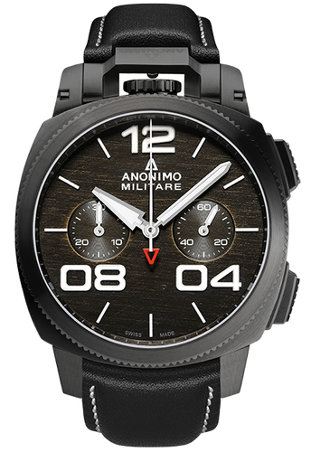 Anonimo Militare Chrono Stainless Steel DLC  AM-1120.02.001.A01