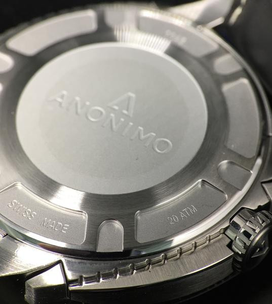 Anonimo Nautilo Stainless Steel AM-1001.01.001.A11