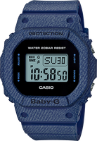 Casio G-Shock Baby-G DENIM'D Limited Edition BGD560DE-2C
