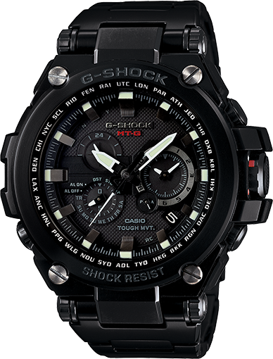 Casio MT-G Metal Twisted G-Shock   MTGS1000BD-1