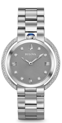 a9066abff Bulova Rubaiyat Womens Watch 96R219