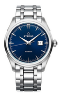 Eterna 1948 Legacy Date Stainless Steel Blue Dial Ref: 2951.41.80.1700