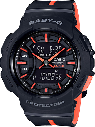 Casio G-Shock Baby-G Urban Runner BGA240L-1A