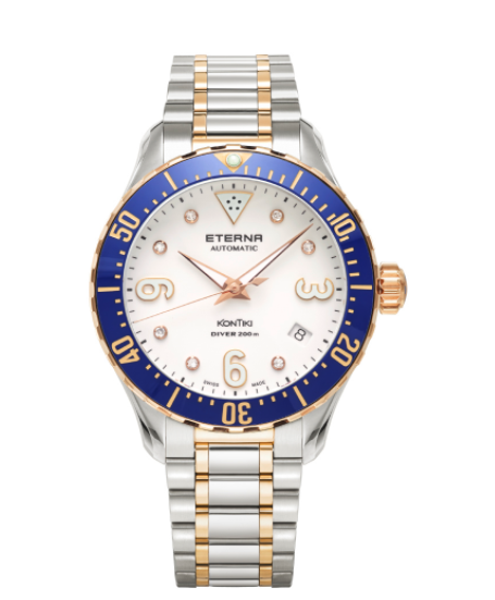 Eterna Lady Kontiki Diver 38mm Automatic  Ref: 1280.66.69.1734