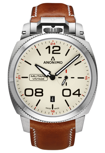 Anonimo Militare Vintage Stainless Steel Eggshell AM-1021.01.001.A02