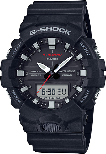 G-Shock Mid-Size Ana/Digital Super Illuminator GA800-1A