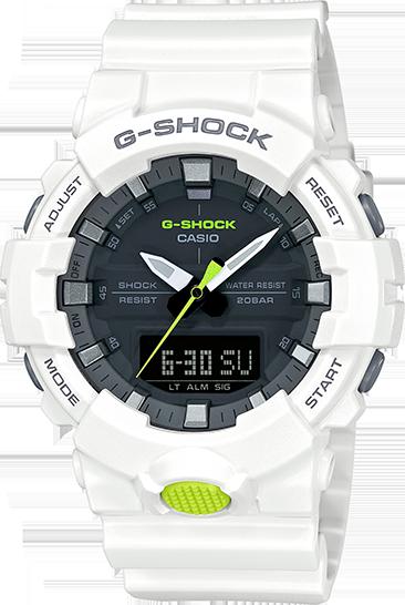 G-Shock Mid-Size Ana/Digital Super Illuminator GA800SC-7A
