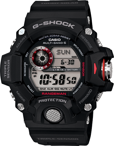 G-Shock Rangeman Limited Atomic Solar Black GW9400-1