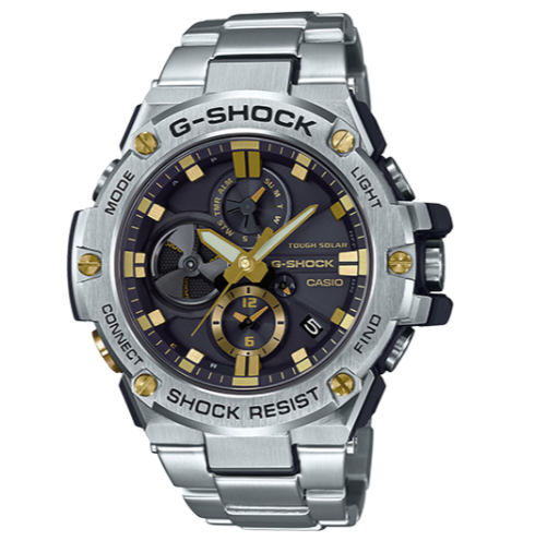 Casio G-Shock G-Steel Bluetooth Connected GSTB100D-1A9