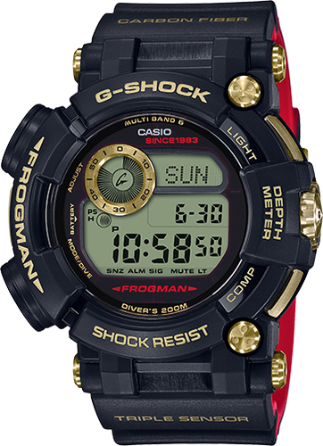 G-Shock Frogman Gold Tornado 35th Anniversary Limited Edition GWF-D1035B-1CR