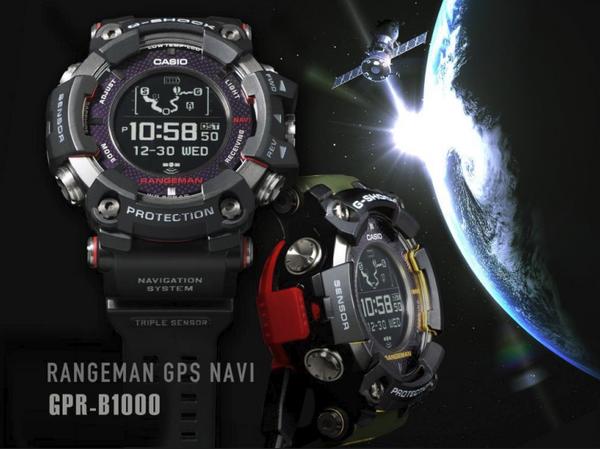 Casio G-Shock Rangeman GPS Navigation GPRB1000-1
