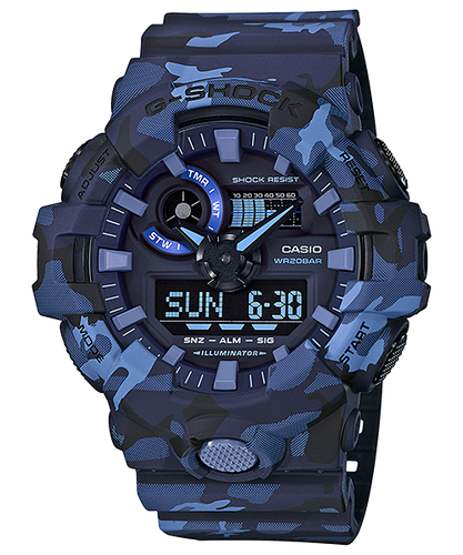 G-Shock Ana/Digital Camo Series GA-700CM-2A