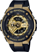 G-Shock G-Steel Black and Gold  GST400-1A9