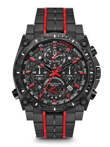 Bulova Men's  Precisionist Chronograph Watch- 98B313