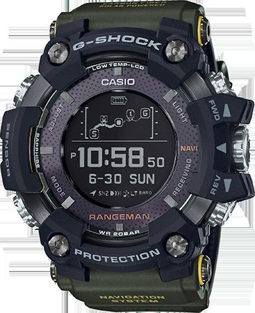 Casio G-Shock Rangeman GPS Navigation GPRB1000-1B