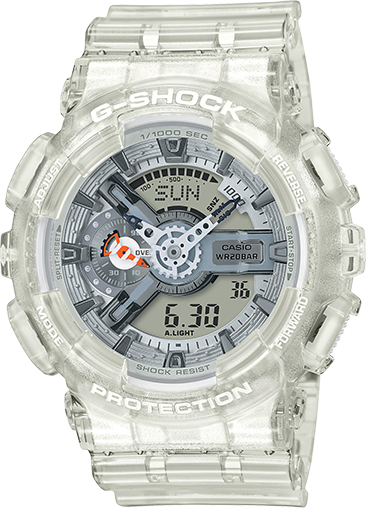 Casio G-Shock Ana-Digital Clear Resin GA110CR-7A