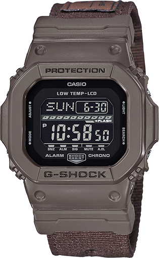 Casio G-Shock G-Lide Ana-Digital Cloth Band GLS-5600CL-5