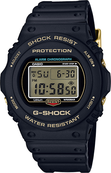 Casio G-Shock 35th Anniversary Original Color Collection DW5735D-1B
