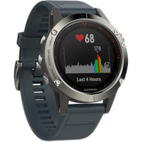 Garmin Fenix 5 GPS Watch Silver Granite