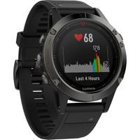 Garmin Fenix 5 GPS Watch Sapphire Slate Grey