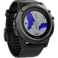 Garmin Fenix 5X GPS Watch Sapphire Slate Grey