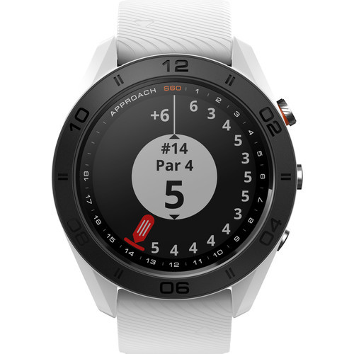 Garmin Approach S60 GPS Watch White