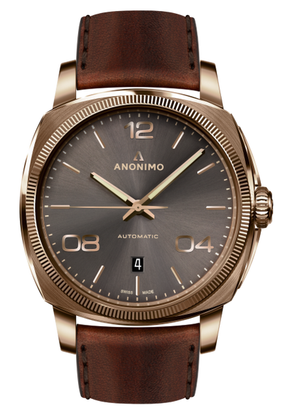 Anonimo EPURATO Automatic Bronze Case Anthracite Sunray Dial  AM-4000.04.441.W88