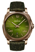 Anonimo EPURATO Automatic Bronze Case Green Galvanic Sunray Dial  AM-4000.04.466.F66
