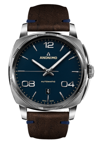 Anonimo EPURATO Automatic Stainless Steel Case Galvanic Mat Blue  AM-4000.01.108.K35