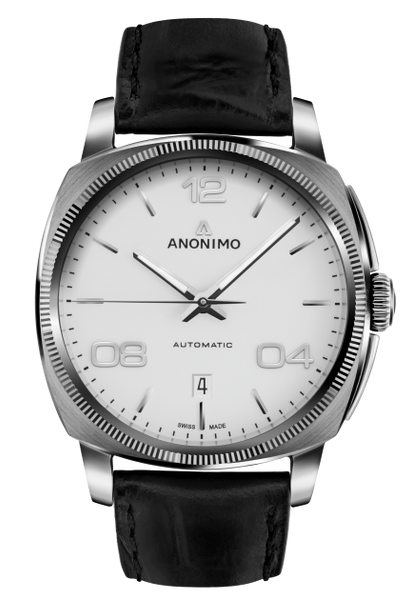 Anonimo EPURATO Automatic Stainless Steel Case Galvanic Opalin Off-White Dial AM-4000.01.100.W11