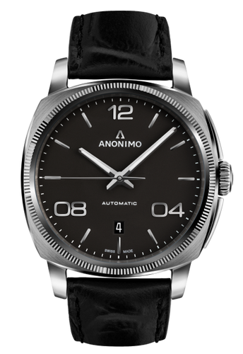 Anonimo EPURATO Automatic Stainless Steel Case Anthracite Mat Opalin Dial AM-4000.01.101.W11
