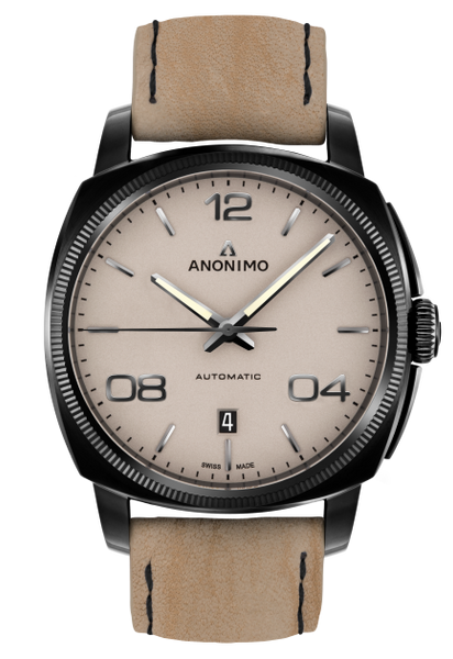 Anonimo EPURATO Automatic Stainless Steel & DLC Sand Dial AM-4000.02.229.K19
