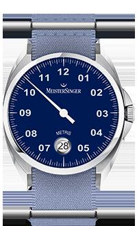 MeisterSinger Metris Blue Dial ME908