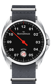 MeisterSinger Metris Black Dial ME902
