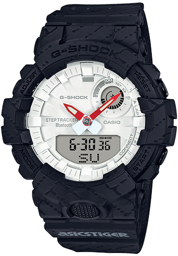 Casio G-Shock ASICSTIGER Step Tracker GBA800AT-1A