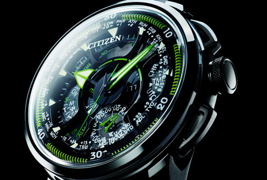 Citizen Eco-Drive Satellite Wave F990  CC7005-16E