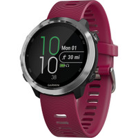 Garmin Forerunner® 645 Music Watch Cerise with Stainless Hardware