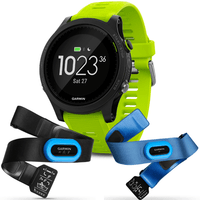 Garmin Forerunner® 935 Tri-bundle (Black with Yellow Straps)