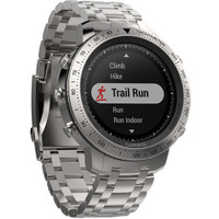 Garmin Fenix Chronos GPS Watch With Brushed Stainless Steel Band