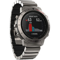 Garmin Fenix Chronos GPS Watch With Titanium Hybrid Band