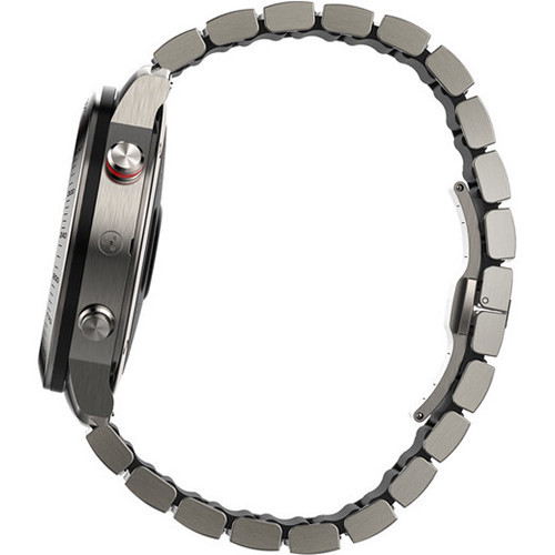 Garmin Fenix Chronos GPS Watch With Titanium Hybrid Band