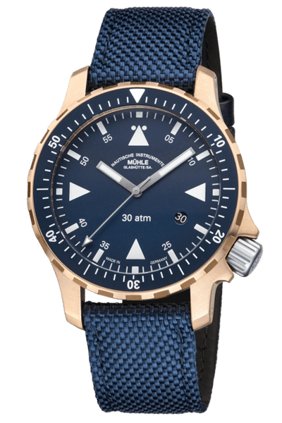 Mühle Glashütte Yacht-Timer Bronze (Limited To 500 Pieces) M1-41-72-NB