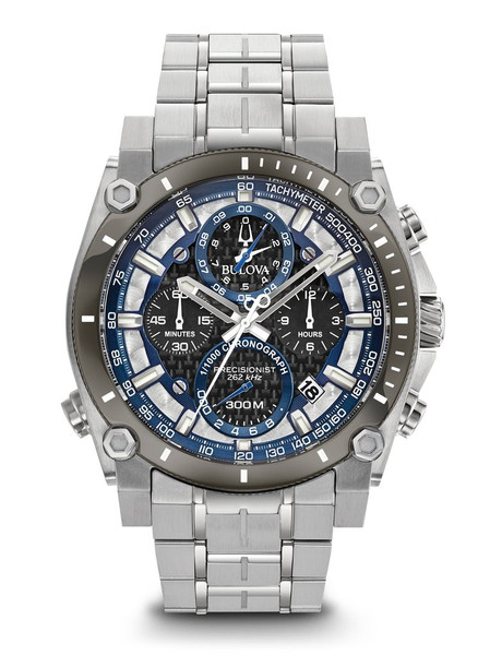 Bulova Men's  Precisionist Chronograph Watch- 98B316
