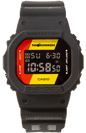 "Casio G-Shock ""The Hundreds"" Collaboration DW-5600HDR-1"