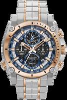 Bulova Men's  Precisionist Chronograph Watch- 98B317 + Free Travel Clock & Picture Frame Clock
