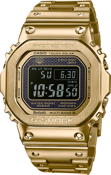 Casio G-Shock Stainless Full Metal 5000 Series - GMWB5000GD-9