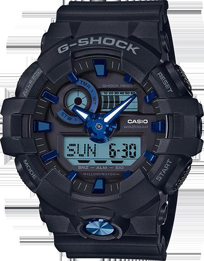 Casio G-Shock Super Illuminator GA710B-1A2